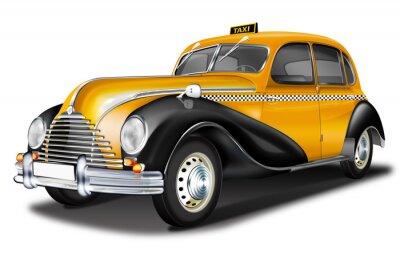 Fototapeta ETM Taxi, DDR Oldtimer