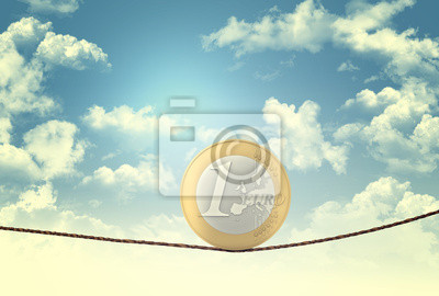 Fototapeta euro acrobat