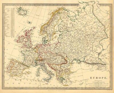 Fototapeta Europa rocznika