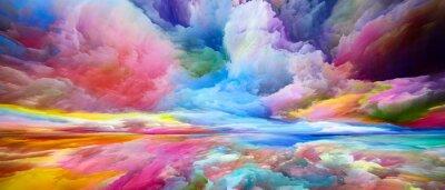 Fototapeta Evolving Land and Sky
