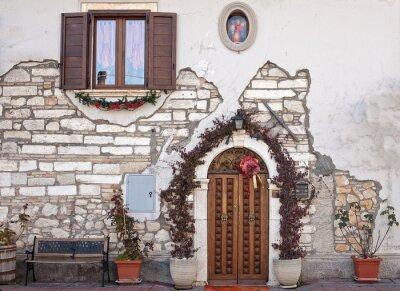 Fototapeta facciata di Abitazione