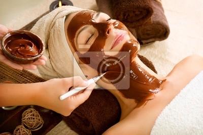 Facial Mask Chocolate Spa Stosowanie