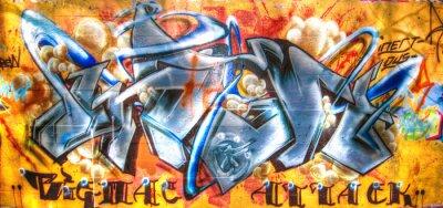 Fototapeta Fajne urban art