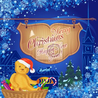 Fantastic Christmas Card z Rynku świąteczne