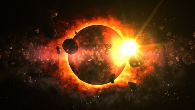 Fototapeta Fantastyczna Dead Planet