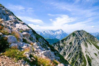 Fototapeta Fantastyczne góry w Bawarii