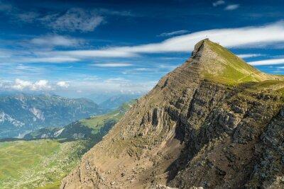 Fototapeta Faulenhorn z Blick Richtung Interlaken