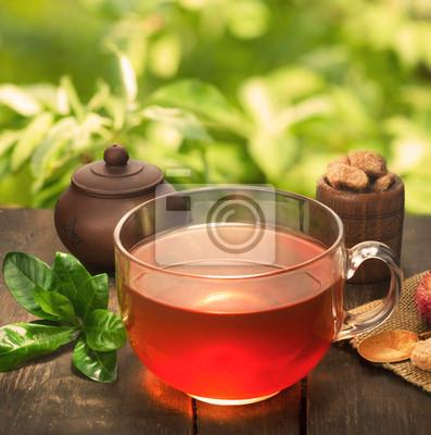 filiżanka herbaty naturalnego