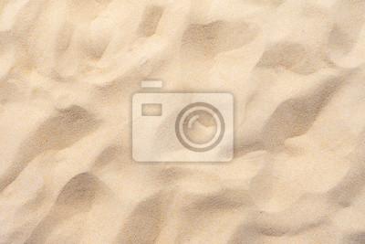 Fototapeta Fine beach sand in the summer sun