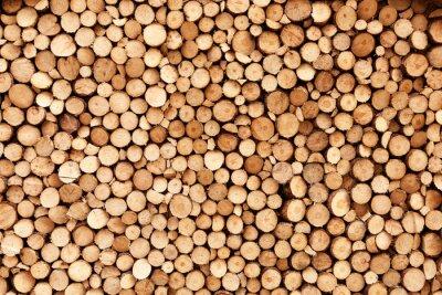 Fototapeta Firewood texture