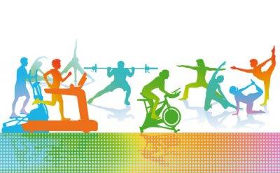 Fototapeta Fitness i sport