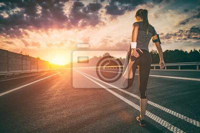 Fototapeta Fitness i trening wellness koncepcji.