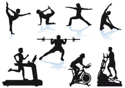 Fototapeta Fitness - Sport