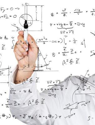 Fototapeta Fizyka i wzory schematy
