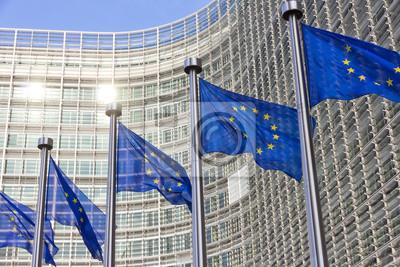 Fototapeta Flagi UE