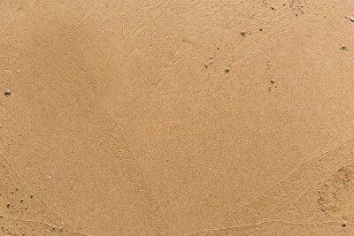 Fototapeta Flat sand on a beach textured backdrop