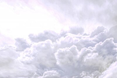 Fototapeta fluffy sky cloudy atmosphere abstract