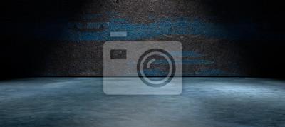 Fototapeta Fondo abstracto, suelo de cemento y porównaniu de la calle en la oscuridad. HORMIGON