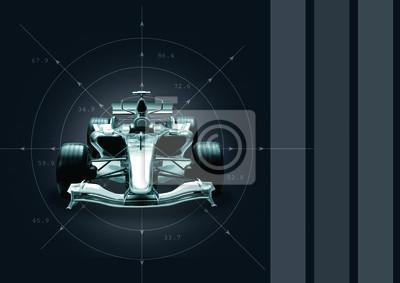 formula 1 car - pojęcie prędkości