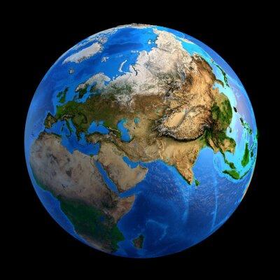 Fototapeta Formy rzeźby Planet Earth