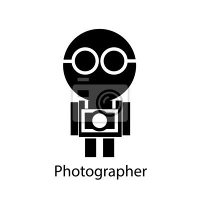 Fototapeta Fotograf, wektor