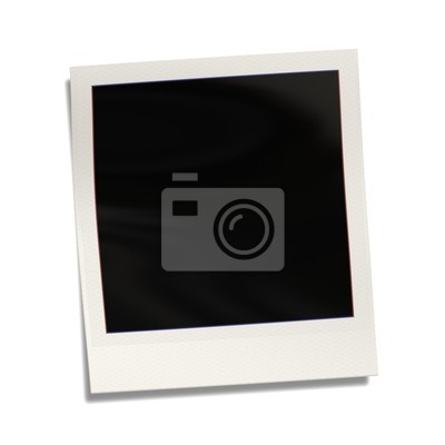 Fototapeta fotografia polaroid pusty