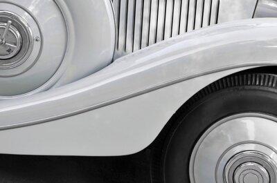 Fototapeta Fragment starego nadwozia samochodu