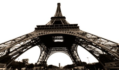 Fototapeta france, paris: tour eiffel