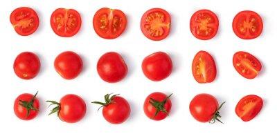 Fototapeta Fresh cherry tomatoes