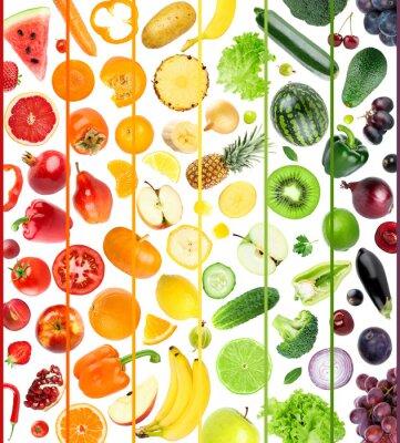 Fototapeta Fresh fruit and vegetable
