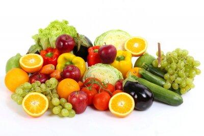 Fototapeta Frutta e warzywa