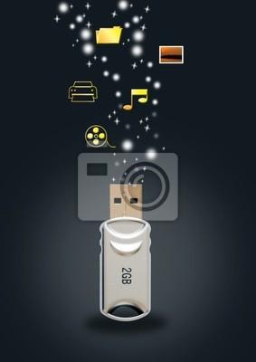 Funkcje z napędu / dysku flash USB