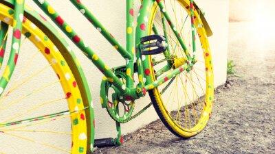 Fototapeta Funny rocznika rower