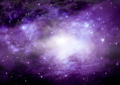 Fototapeta Galaktyka w wolnej przestrzeni
