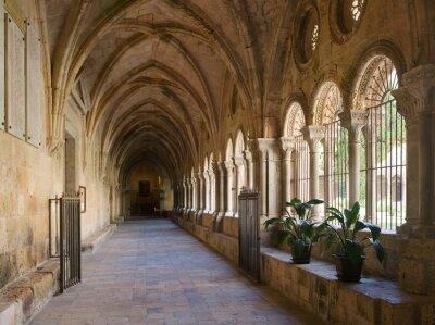 Fototapeta Galeria dziedzińcu katedry Tarragona