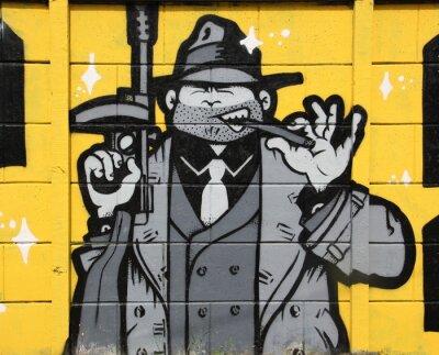 Fototapeta Gangster