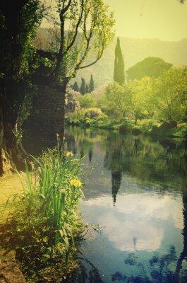 Fototapeta Gardens of Ninfa Latina Italy