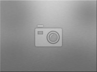 Fototapeta gebürstetes Edelstahl (Hintergrund)
