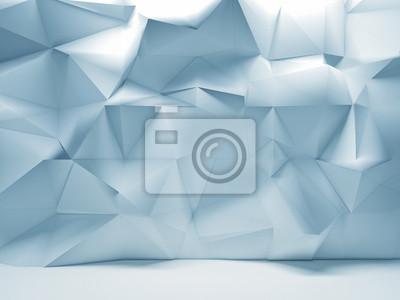 Fototapeta geometryczne ściany