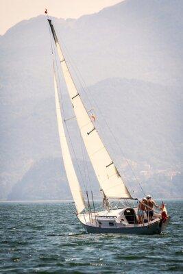 Fototapeta gita w barca Vela