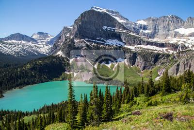 Fototapeta Glacier National Park Montana gór i jezior
