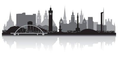 Fototapeta Glasgow city skyline