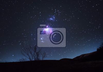 Głębokie niebo, Mgławica Oriona m42.