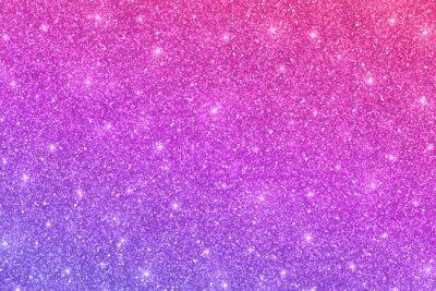 Fototapeta Glitter horizontal texture with pink violet color gradient. Vector