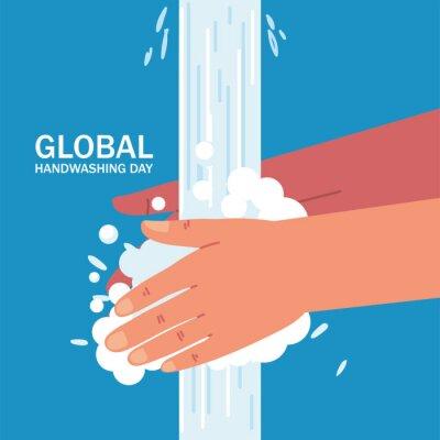 Fototapeta global handwashing day