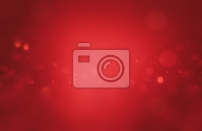 Fototapeta Glowing Side and top down light bokeh and glitter Abstract Christmas Background