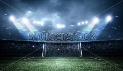 Fototapeta Goal post