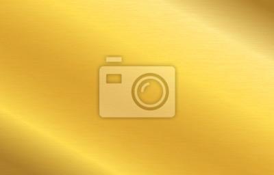 Fototapeta Gold metallic surface foil texture