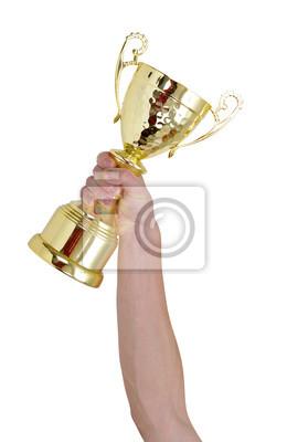 Fototapeta golden trophy