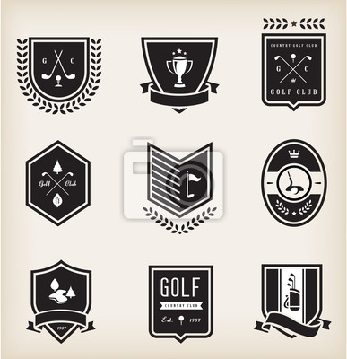 Golf Emblematy